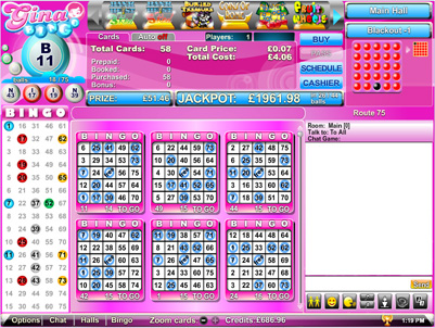 Bingo 75 Pink Online Bingo - Review and Free Online Game