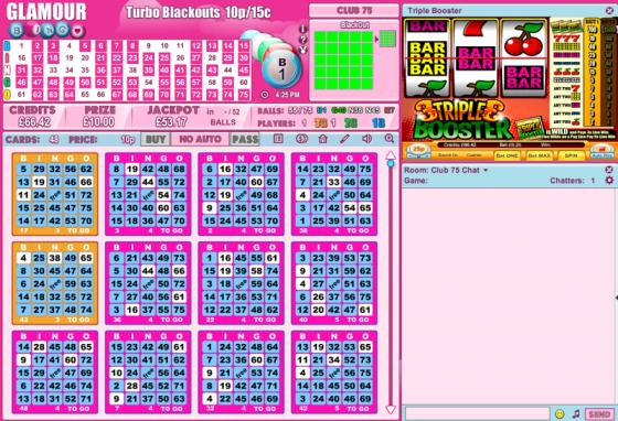 Bingo 75 Pink Online Bingo - Review and Free Online Game