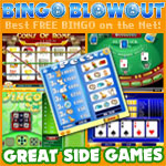 Seven varieties of a stealthy game at Bingo Blowout